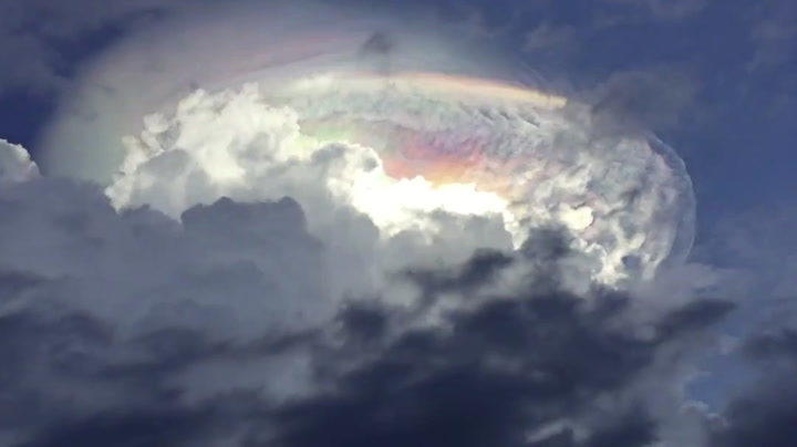 Forbløffet over mystisk skyformasjon