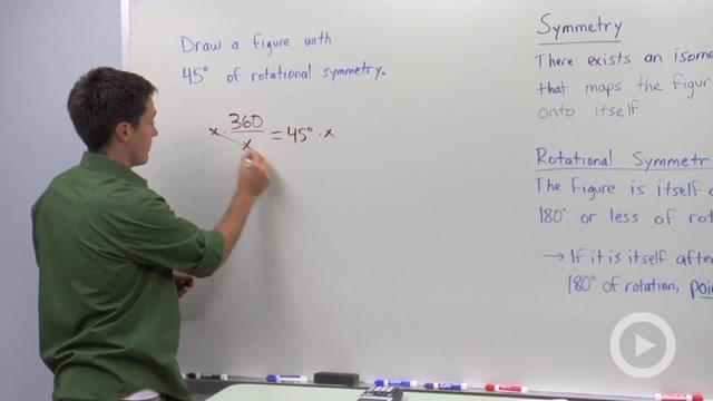 Rotational Symmetry - Problem 1