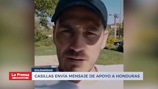 Casillas envía mensaje de apoyo a Honduras y tiene noble gesto con los niños hondureños