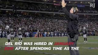 Raiders fire Jack Del Rio