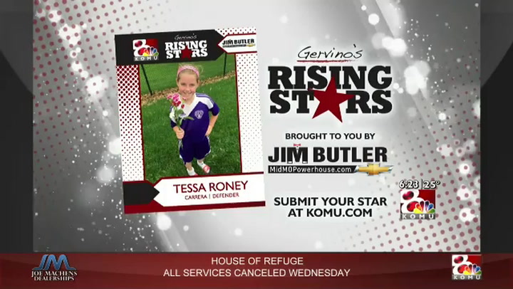 Gervino's Rising Star - Tessa Roney