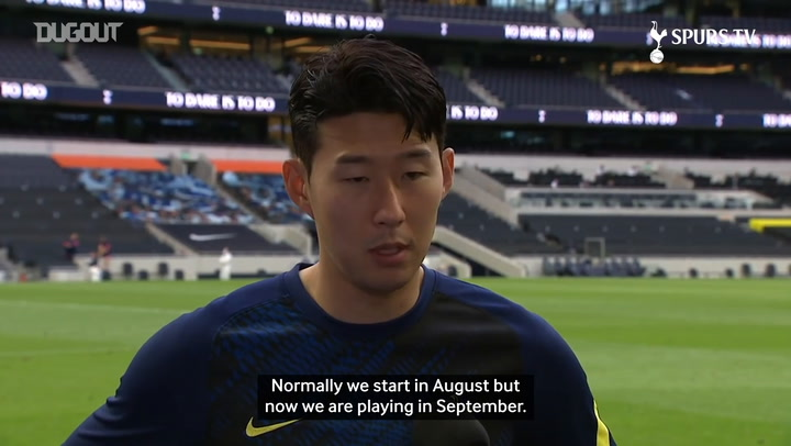 Heung-Min Son: We want to show a different mentality this season
