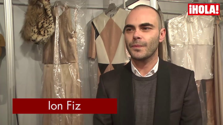 Ion Fiz: \'En esta colección el hombre gana mucho protagonismo\'
