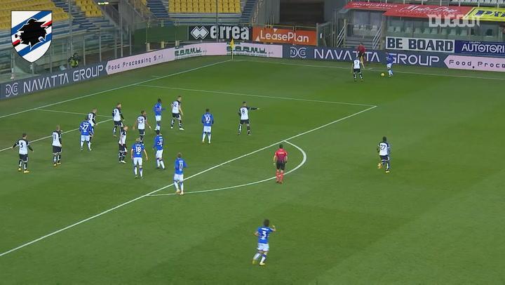 Maya Yoshida's first Sampdoria goal