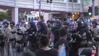 Tensions rise as protests continue at the Strip