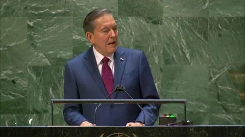 Panamá pide apoyo en la ONU para atender ola migratoria haitiana