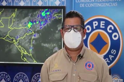 Lluvias débiles se esperan este martes para varias regiones de Honduras