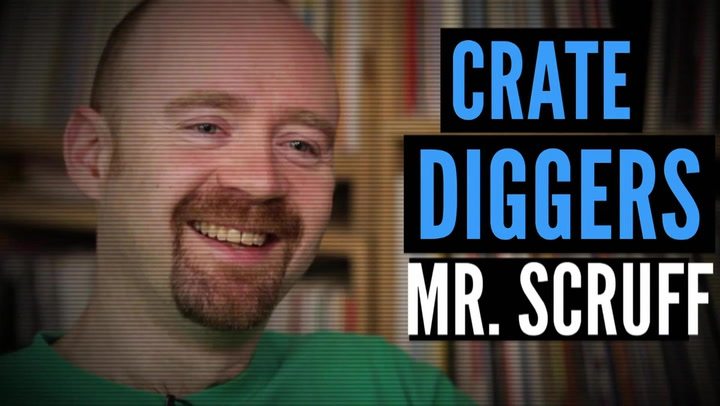 Mr. Scruff's Vinyl Collection