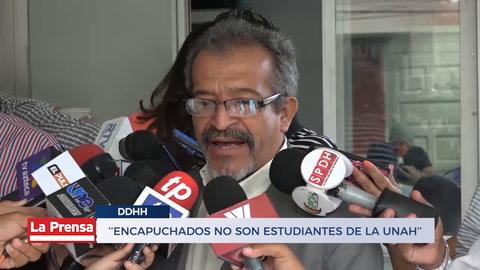 ''Encapuchados No Son Estudiantes De La Unah''
