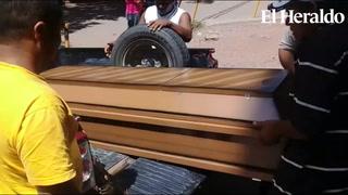 Retiran restos de menor asesinado en Nacaome, Valle
