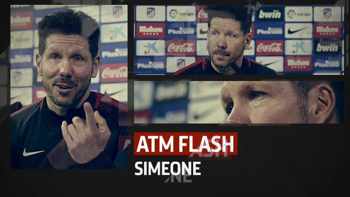 Check Out Simeone's Thoughts on #AtletiCelta