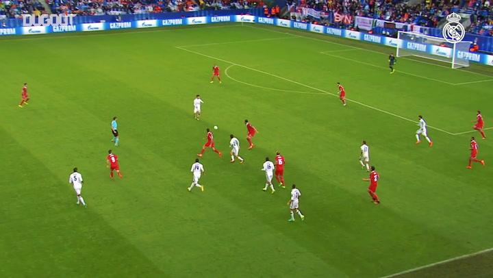 Primer gol con Real Madrid: Asensio y Owen
