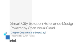 Chapter 1: What is a Smart City?