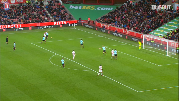 Muniesa gets his first Premier League goal for Stoke