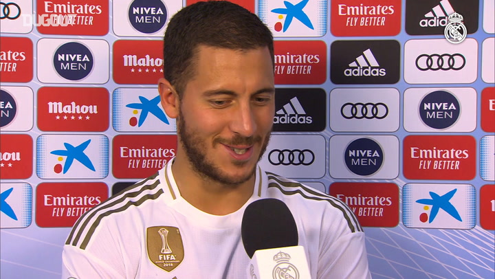 Hazard: 'My first goal had to be special'