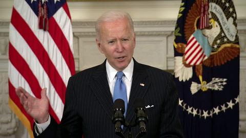 Biden promete vacunas para todos los adultos de EEUU antes del fin de mayo