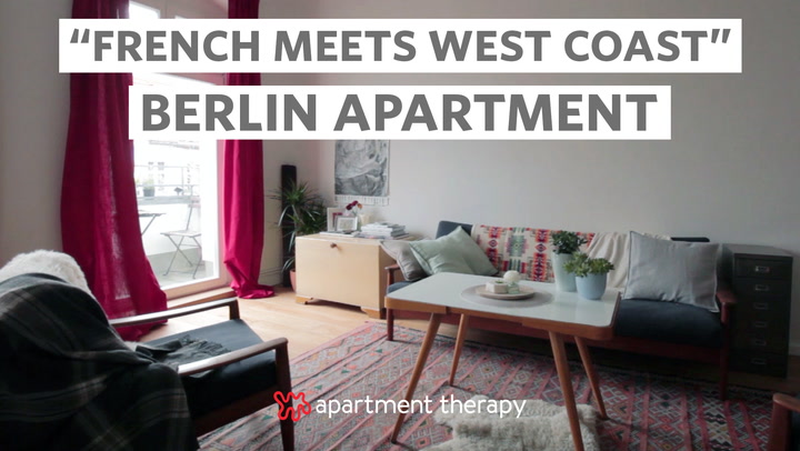 house tour: a serene, creative apartment in berlin | apartment therapy