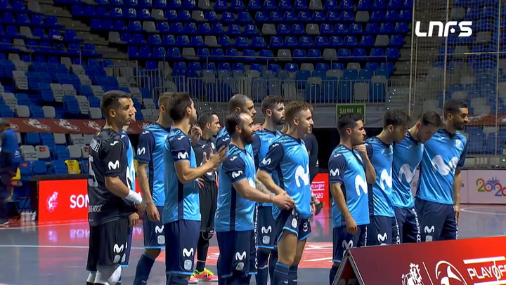 Resumen del Movistar Inter - Palma Futsal (3-1)