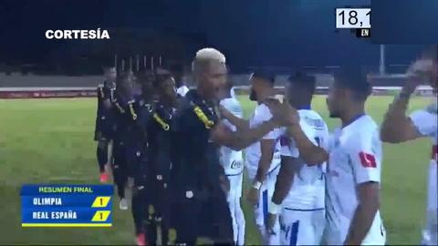 Olimpia 1-1 Real España