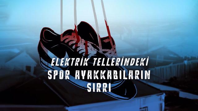 Elektrik tellerindeki spor ayakkabıların sırrı