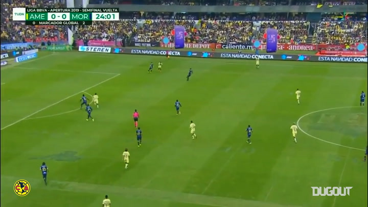 Club América's comeback vs Monarcas