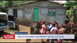 Mata a su mujer y su prima en Santa Cruz de Yojoa