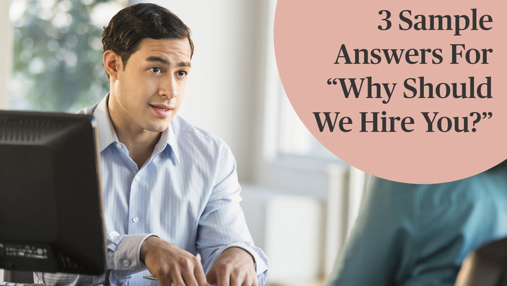 best interview answers why should we hire you