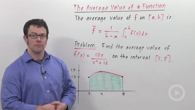 Average Value of a Function - Problem 2