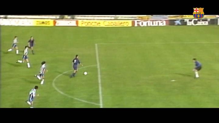 Estos fueron algunos de los mejores goles de Stoichkov con la camiseta azulgrana