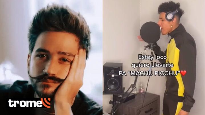 Joven se vuelve viral en TikTok por 'arreglar' letra de la canción 'Machu Picchu' de Camilo y Evaluna