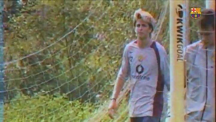 Gerard Piqué regresa a Old Trafford, Manchester, 11 años después