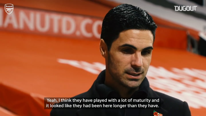 Arteta full of praise for new singings after Man United win