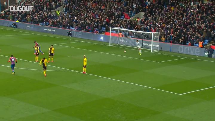 Jordan Ayew's fantastic strike defeats Watford