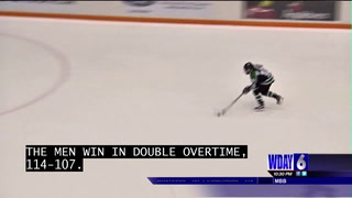 UND clinches home ice with shootout win