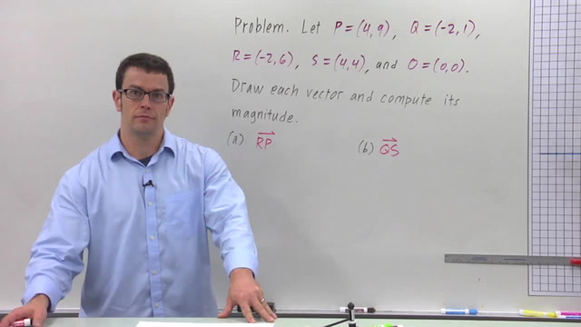 The Geometric Representation of Vectors - Problem 3