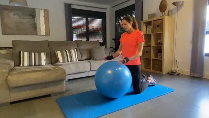 Los consejos de Gemma Triay para entrenarse en casa