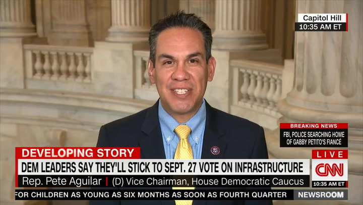 Dem Rep. Aguilar: There's 'Humanitarian Crisis' at Border, Individuals Need to 'Know the Rules' and Follow Them