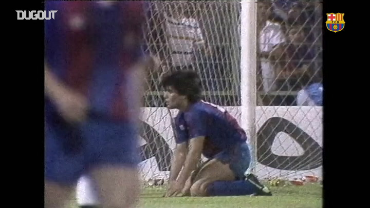 FC Barcelona beat Real Madrid 2-1 to win the 1983 Copa del Rey
