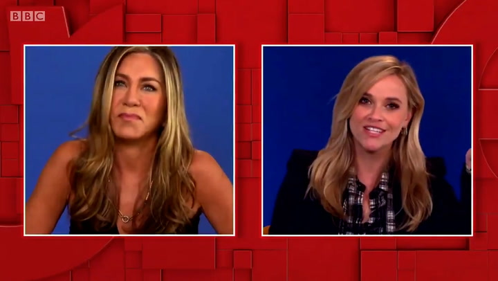 Jennifer Aniston gives sarcastic reply to The One Show's Jermaine Jenas