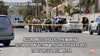 Police investigate shooting in northwest Las Vegas – VIDEO