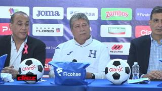 Hicieron 'clic', Bolillo Gómez y sus jocosas respuestas a periodistas para 'romper el hielo' en Honduras
