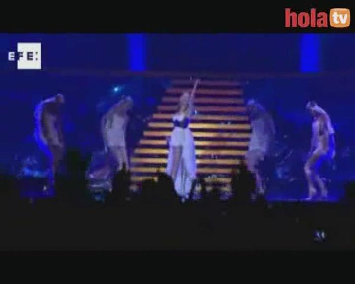 Kylie Minogue, una diosa en el Olimpo barcelonés