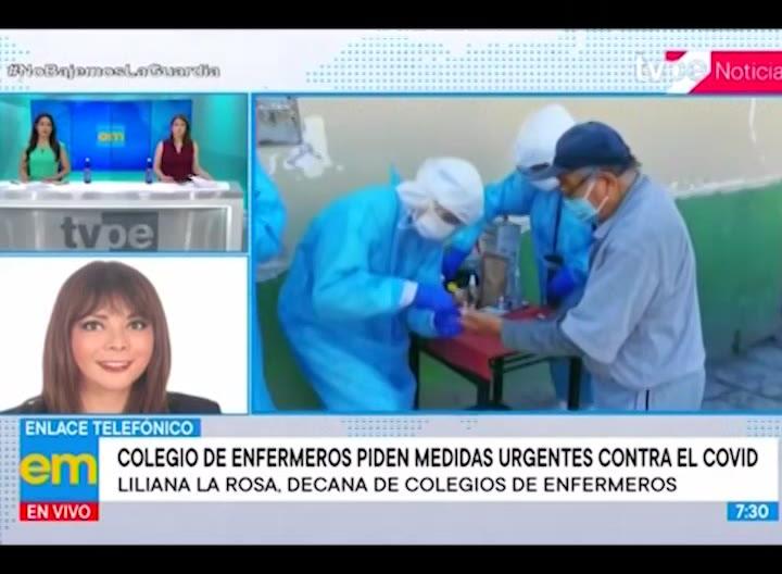"""Colegio de Enfermeros: """"Es inadmisible que no estemos en el grupo de trabajo para vacunación"""""""