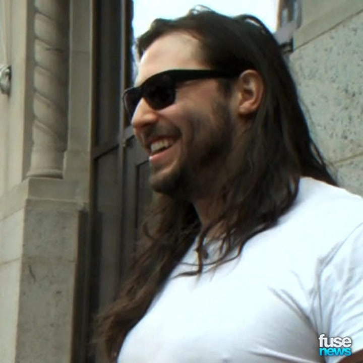 Andrew WK Talks Fresh + Sexy Wipes For Playtex