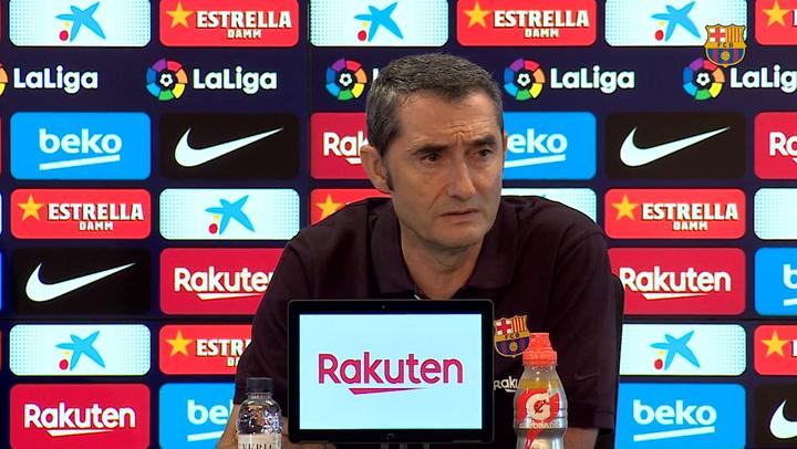 Rueda de prensa de Valverde previa al partido contra el Villarreal