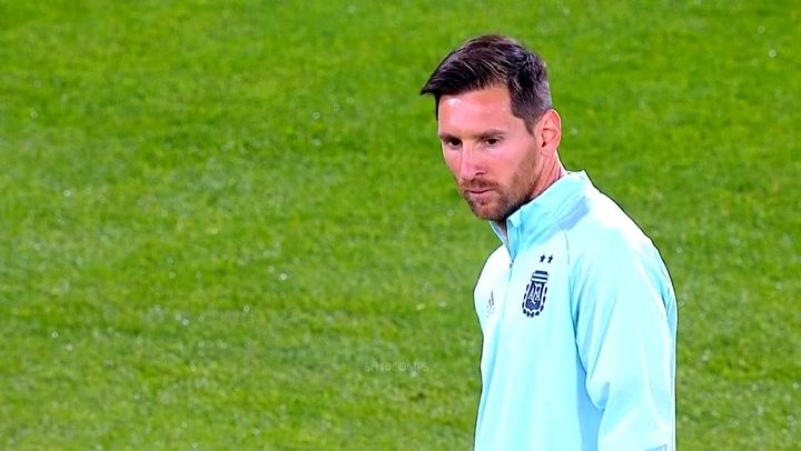 Messi marcó la diferencia en el Argentina-Ecuador