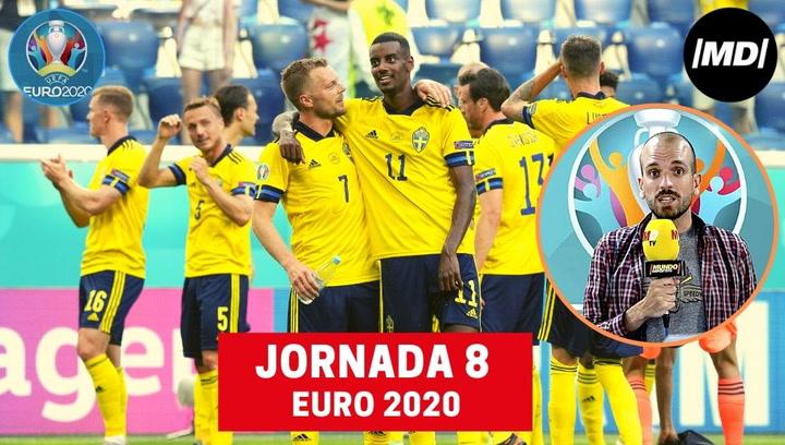 El resumen de la 8 jornada de la Euro 2020