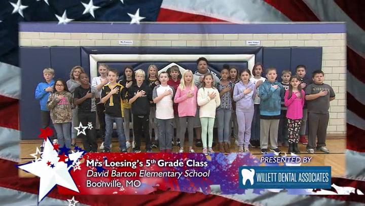David Barton Elementary - Mrs. Loesing - 5th Grade