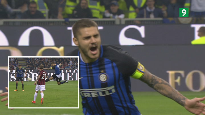 Iskølige Icardi scorer til 2-1 for Inter!