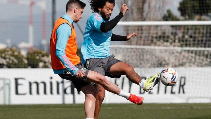 El Real Madrid sigue preparando el partido contra la Real Sociedad